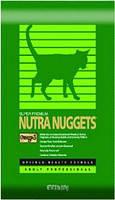 Корм для котов Nutra Nuggets Indoor Hairball 10 кг для длинношерстных кошек не покидающих помещение