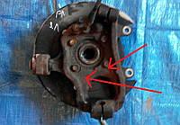 Кулак поворотный задний левый, 43019-EB300, Nissan Pathfinder (Ниссан Пасфаиндер)