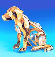"""Фигурка Сваровски """"Собака"""" - символ отваги, храбрости, бескорыстия, справедливости и надежной защиты."""