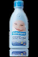 Детский гель для купания с лавандой Babylove entspannendes Schlaf Gut Bad