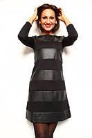 Платье в полоску БАТАЛ