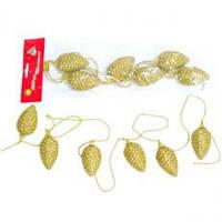 Шишки Li-YD455 G 6 шт золотой