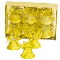 Колокольчик «Merry Christmas» Li-XG28096 6 шт золотой