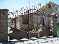 Кованные ворота 18555