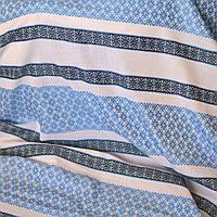 Ткань  для штор с украинской вышивкой Анастасия ТДК-73 2/2