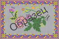 Схема для вышивки бисером «Цветы»
