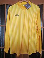 Зимняя распродажа фирменные спортивная футболка бренд UMBRO Англия XXL размер