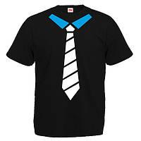 Футболка с галстуком. Футболка на заказ