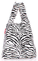 Женская виниловая сумка-пакет с принтом POOLPARTY VYNIL TOTE Арт. pool-20-zebra