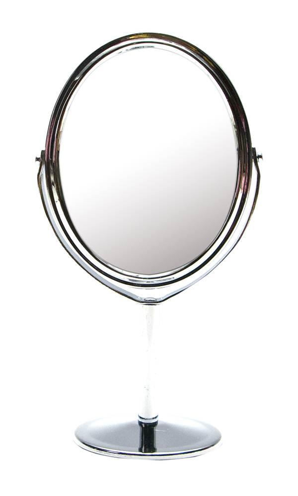 Зеркало овальное настольное на ножке