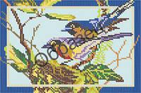 Схема для вышивки бисером «Птицы»