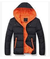 Пуховик мужской зимняя куртка черная, фото 1
