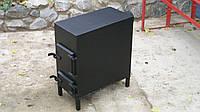 Буржуйка из стали 3 - 4 мм для отопления любых помещений и приготовления еды
