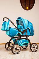 Универсальная коляска-трансформер Trans baby Rover (87/99) мор.волна+бирюза