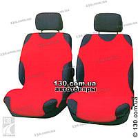 Майки чехлы для автомобиля универсальные Kegel на переднее сиденье красные, фото 1