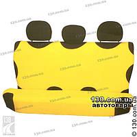 Майки чехлы для автомобиля универсальные Kegel на задние сиденье желтые, фото 1