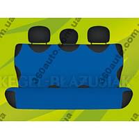 Майки чехлы для автомобиля универсальные Kegel на задние сиденье синие