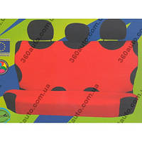 Майки чехлы для автомобиля универсальные Kegel на задние сиденье красные
