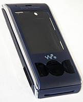 Корпус Sony Ericsson W595 полный синий High Copy