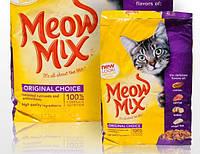 Meow Mix Original корм для котов на основе  курицы, индейки, лосося, океанической рыбы 7,26кг