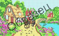 Схема для вышивки бисером - «Летом на даче»