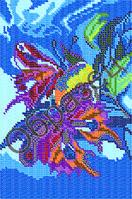 Схема для вышивки бисером - «Бабочки»