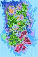 Схема для вышивки бисером - «Букет цветов»