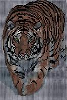 """Схема для вышивки бисером - """"Тигр"""""""