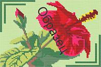 """Схема для вышивки бисером - """"Китайская роза"""""""