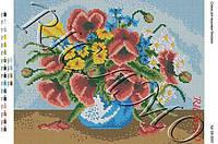 """Схема для вышивки бисером """"Польові квіти"""""""