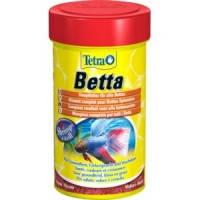 Tetra Betta основной хлопьевидный корм для бойцовых рыб и других видов лабиринтовых, 100мл