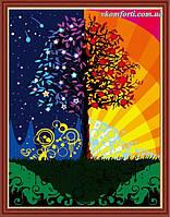 Картина по номерам Babylon Дерево счастья (CG224, MG224) 40 х 50 см