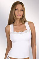 Женская майка белого цвета, модель Odeta  Eldar