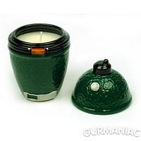Ароматизированная противомоскитная свеча Big Green Egg цитронелла (BGECC)