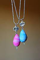 Подвеска модный кулон ожерелье женское праздничное подарок на новый год для друзей для подруг