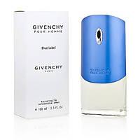 Тестер.  Мужская туалетная вода Givenchy Blue Label (Живанши Блю Лейбел) 100мл