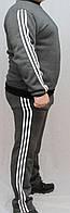 Мужской спортивный костюм с начесом, фото 1