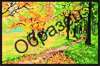 """Схема для вышивки бисером - """"Золотая осень"""""""