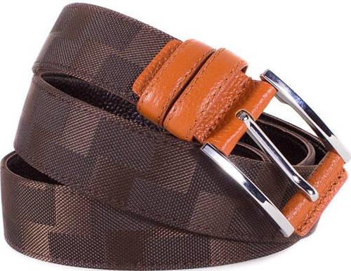 Мужской оригинальный кожаный ремень ETERNO (ЭТЭРНО) E355701
