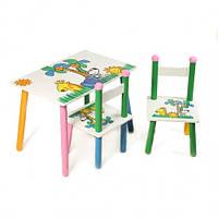 "Столик со стульчиками  Z-004 ""Джунгли"""