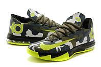 Баскетбольные кроссовки  Кроссовки Nike KD 6 Camo