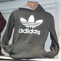 Серая мужская толстовка Adidas