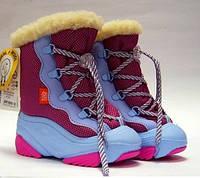 Сапоги зимние - сноубуты - дутики детские Demar Snow Mar 4017