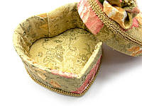 Декоративная шкатулка из ткани