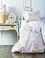 Комплект постельного белья для новорожденных Karaca Home Friends