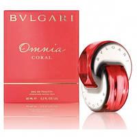 BVLGARI  Omnia Coral lady 40 ml + satin pouch Туалетная вода Оригинал