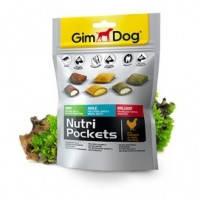 GimDog Nutri Pockets комплекс витаминов для здоровых суставов, шерсти и зубов, 150г