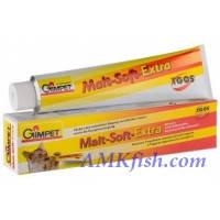 Gimpet Malt-Soft-Extra с ТГОС паста для выведения шерсти для кошек, 200г