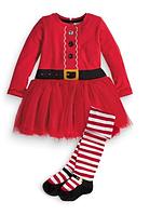 Новогоднее платье и колготы