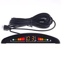 Автомобильный парктроник на 4 датчика + дисплей